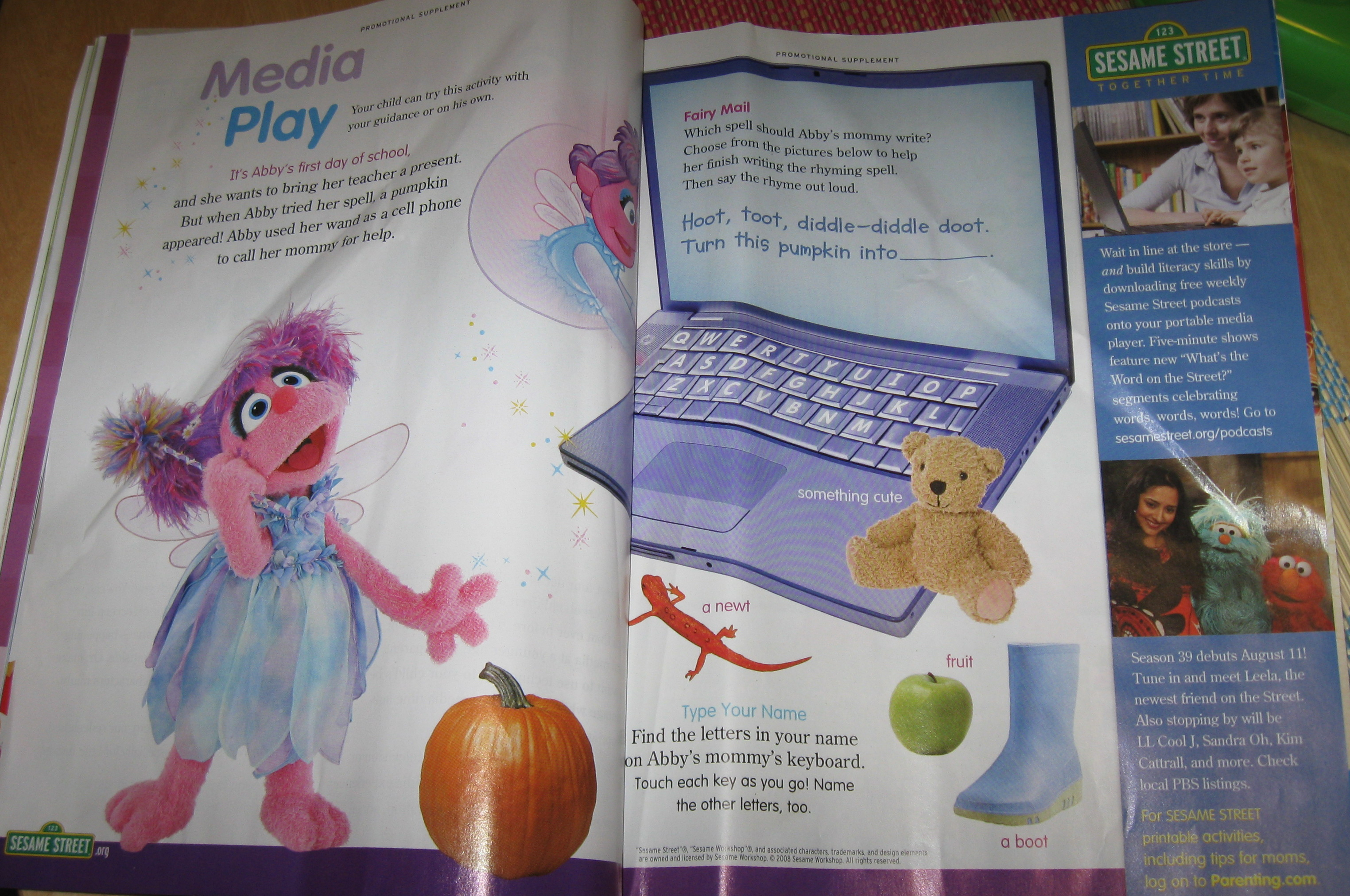 media play sesame street p2